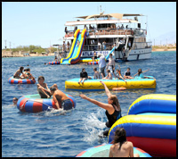 Eilat yacht for groups